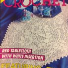 Decorative Crochet Magazine Number 30 November 1992 Crocheted tablecloth pillows Doilies