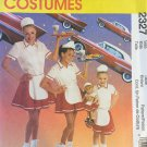 "McCall's 2327 Car Hop costume for Child or 18"" doll child size 3 4 5 6"