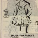 Vintage Mail Order Child's Sailor Sunsuit and Shorts Sewing Pattern 8352 Size 6 years