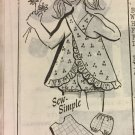 Vintage Mail Order Child's Sunsuit and Bloomers Sewing Pattern 8181 Size 4 years
