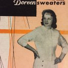 Doreen Sweaters Volume 109 Doreen Knitting Books Original booklet 1958