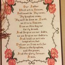 Lord's Prayer Cross stitch Pattern  Leaflet #1 Creations by Christine