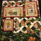 Gardener's Delight Cross stitch Pattern  book 246 Dimensions