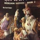Leisure Arts  2344 The Wise Men Heirloom Nativity Cross Stitch Pattern