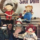 Too Cute Sock Dolls pattern book by Paula Bates