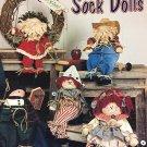Too Cute Sock Dolls pattern book by Paula Bates