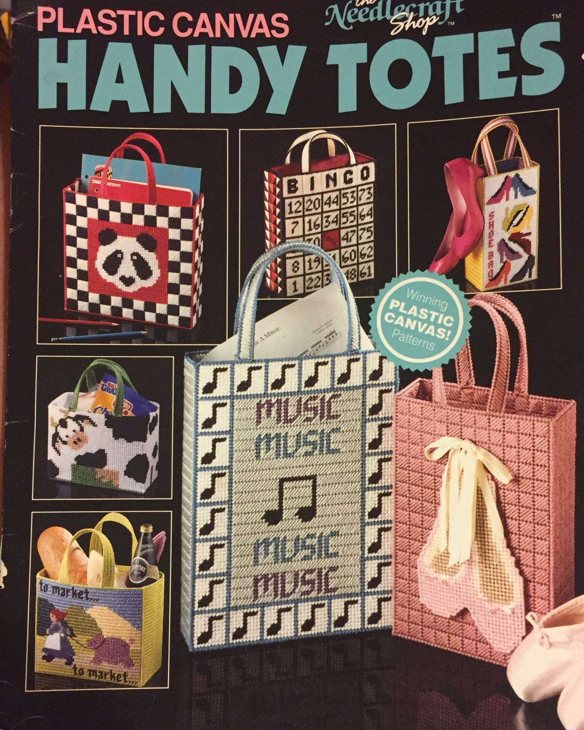 Handy Totes Plastic Canvas Patterns The Needlecraft Shop 90PB2