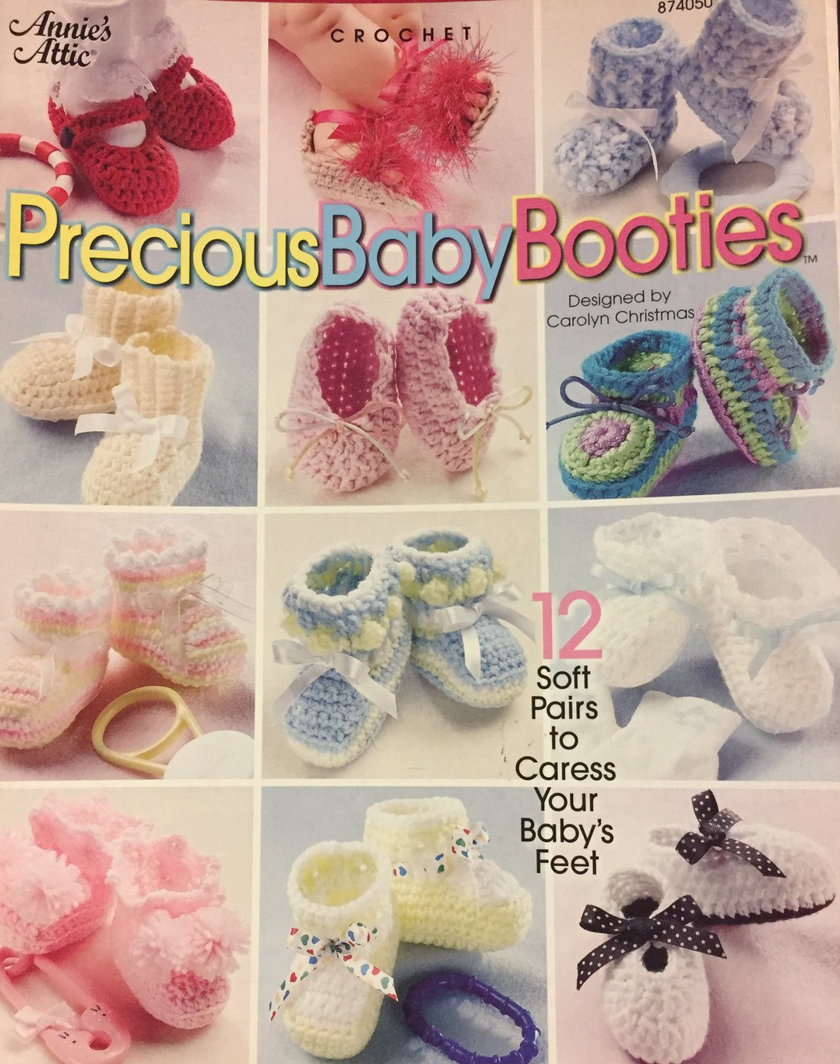 Precious Baby Booties Crochet Patterns Annie's Attic 874050