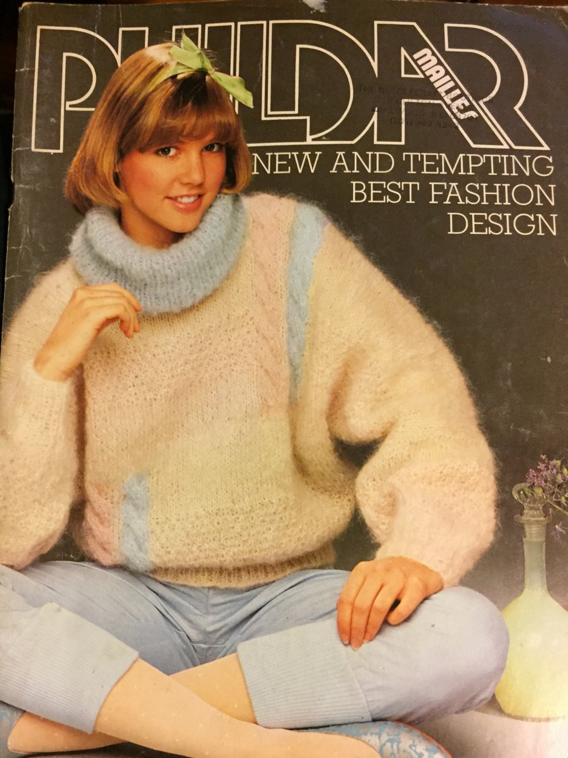 Phildar New and Tempting Best Fashion Design Knitting Patterns