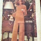 Vintage 1970s Sewing Pattern Butterick 4027 Big Top and Pull On Pants Size 16 Bust 38""