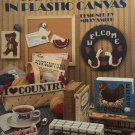 Leisure Arts 1083 Country Things in  Plastic Canvas Pattern