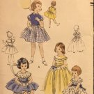 Vogue 2721 One Piece Dress for child size 4 Vintage 1955 sewing pattern