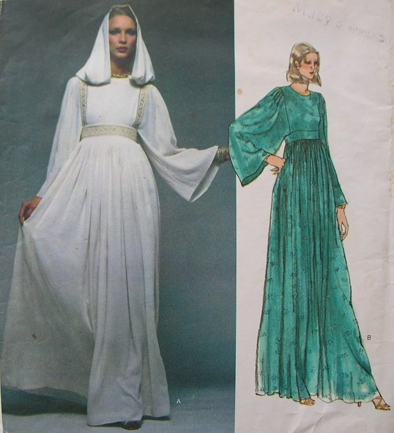 Sewing Pattern Vogue 1553 Misses' Evening Dress Pattern By CHRISTIAN DIOR  size 16