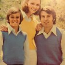 Patons book 403 Family Favorites sweaters cardigans jumpers knitting and crochet pattern