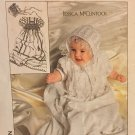 Simplicity Pattern 9386: Babies' Christening Gown, Slip and Hat. Jessica McClintock. Sizes 0- 12M