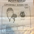 Sewing Pattern for Convertible Bomber Hat #240 from Rain Shed Outdoor Fabrics