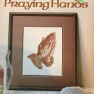 Praying Hands  Cross Stitch Chart by Sun Graphics Leaflet 101