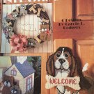 Puppy Time in Plastic Canvas Leisure Arts 1410 Pattern.