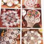 Pineapple Garden Doilies, House of White Birches Crochet Pattern Booklet 101101