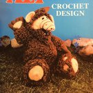 Alf Stuffed Doll Crochet Pattern Book Millcraft, Inc ALFB-1
