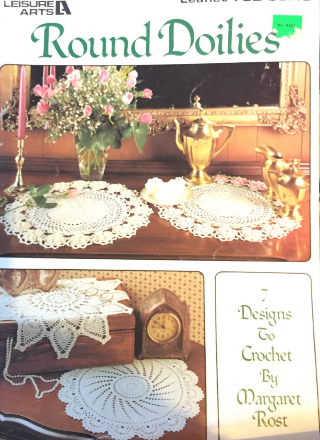 Round Doilies Leisure Arts 702 Doily Doilies Place Mats Thread Crochet