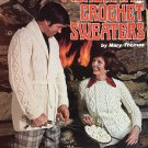 Fisherman Crochet Sweaters Pattern Booklet American School of Needlework BOOK 1006