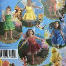Simplicity 2872 Disney Girls Fairy Sewing Pattern - UNCUT - Sizes 3 4 5 6 7 8