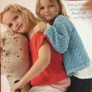 Ella Rae Design and Yarn Book 20 Summer Fair Child's Sweaters