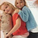 Ella Rae Design and Yarn Book 20 Summer Fair Child's Sweaters