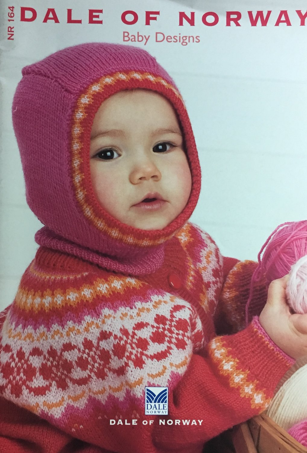 Dale of Norway 164 Knitting Patterns  for Babies Designs