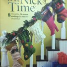 In the Nick of Time Christmas Stockings Knitting Pattern House of White Birches