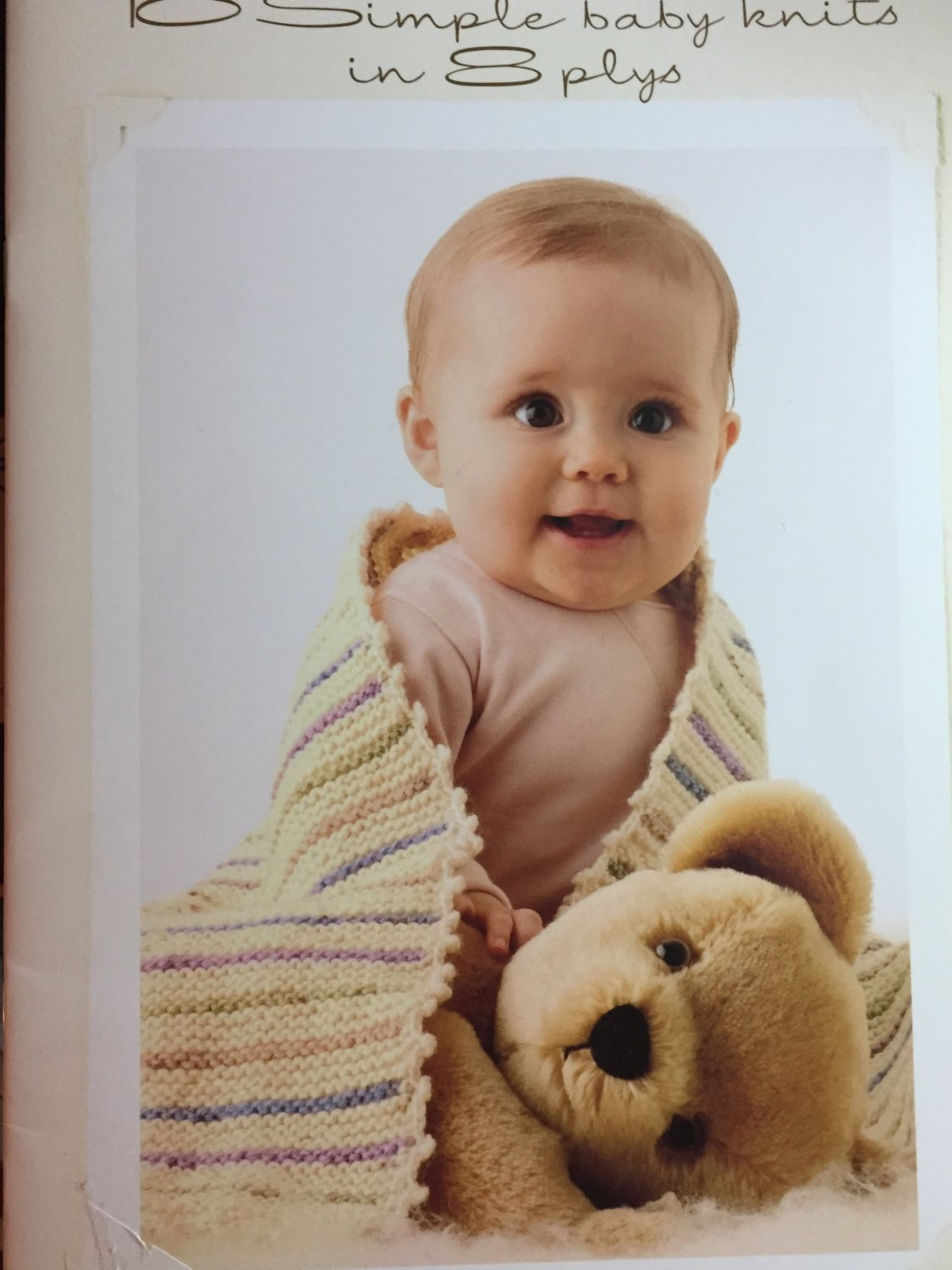 10 Simple Baby Knits in 8 plys Cleckheaton Yarns book no. 948