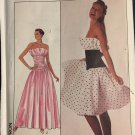 Simplicity 8949 Vintage 80s Sewing Pattern for Misses' Evening Dress - Uncut - Size 18 - Bust 40