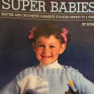 More Nomis Super Babies Booklet , Knitting patterns for baby cardigans and pullovers, 11 styles