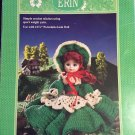 Erin Doll Gown Crochet Pattern  Fibre Craft FCM241