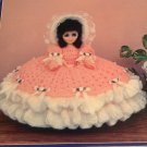 Cassandra Fashion Cushion Doll Gown Crochet Pattern TD Creations TD-823