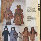 McCall's 7116 Heritage Dolls & Clothes Sewing Pattern Prairie Native American African American