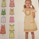 Simplicity 2909 Sewing Pattern makes Tops Shorts and Dresses size 3 4 5 6 7 8