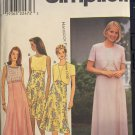 Simplicity 8507 Misses Dress and Lined Bolero Jacket Sewing Pattern Size 18 20 22