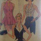 Very Easy Very Vogue 8356 Stylish Halter Top Sewing Pattern size 14, 16, 18