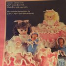 Mother's Lullaby  Pillow Doll Bed Doll  Crochet Pattern  Fibre Craft FCM233