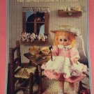 Goldilocks Bed Doll Crochet Pattern  Fibre Craft FCM157