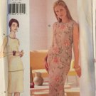 VOGUE 9791 Lined Bias Straight Skirt Pattern, Pullover Sleeveless Top Size 8 10 12