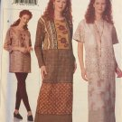 Easy VOGUE Creative 9695 Dress, TUNIC & LEGGINGS Pattern sz 14 16 18