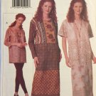Easy VOGUE Creative 9695 Dress, TUNIC & LEGGINGS Pattern sz 8-10-12
