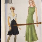 Vogue 9492, Size 14 16 18  Ladies Knit Fit and Flare Empire Waist Dress in 2 lengths,UNCUT