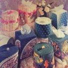 Tissue covers Plastic Canvas Power Room Pairs  American School of Needlework 3143