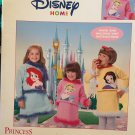 DISNEY PRINCESS KNIT SWEATER SETS Knit Hand / Machine Patterns Cinderella Ariel Leisure Arts 3563