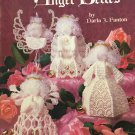 Angel Belles Plastic Canvas Needlepoint Ornaments Wedding White Bells Patterns Craft Leaflet 3187