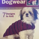 Dashing Dogwear Knitting Pattern Leisure Arts 4485 Doggy Sweaters
